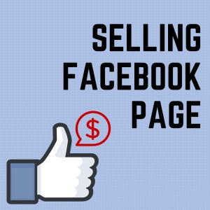 selling Facebook page
